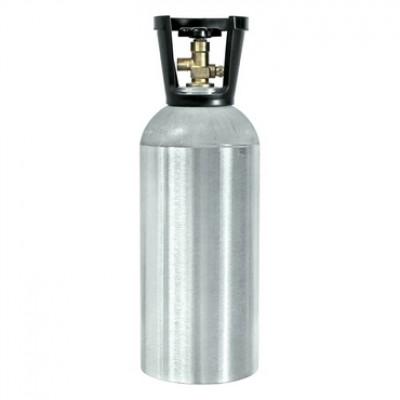 Bonbonne pour 10 lbs de CO2 - Vide  avec poignée