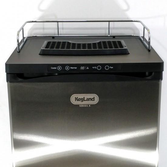 Kegerator KegLand Series X - Avec tour à 3 robinets SS Intertap