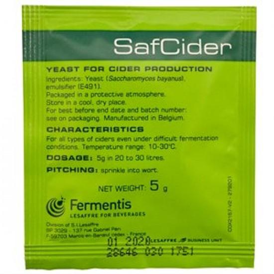 Levure fermentis - SafCider - 5 g