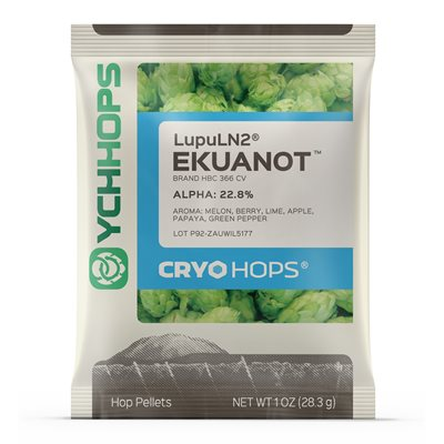 Lupuline de houblon Cryo Hops® - Ekuanot - 28g