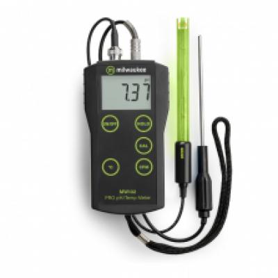 pH-mètre / thermomètre MW102 de Milwaukee  Instruments, Inc.